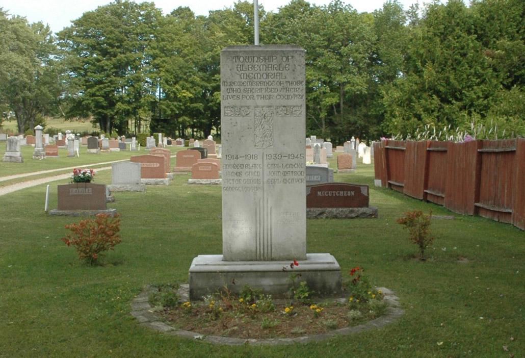 Albemarle Township Memorial