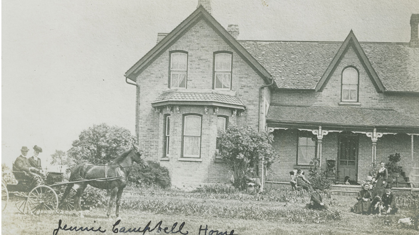 Jennie Campbell house, Armow