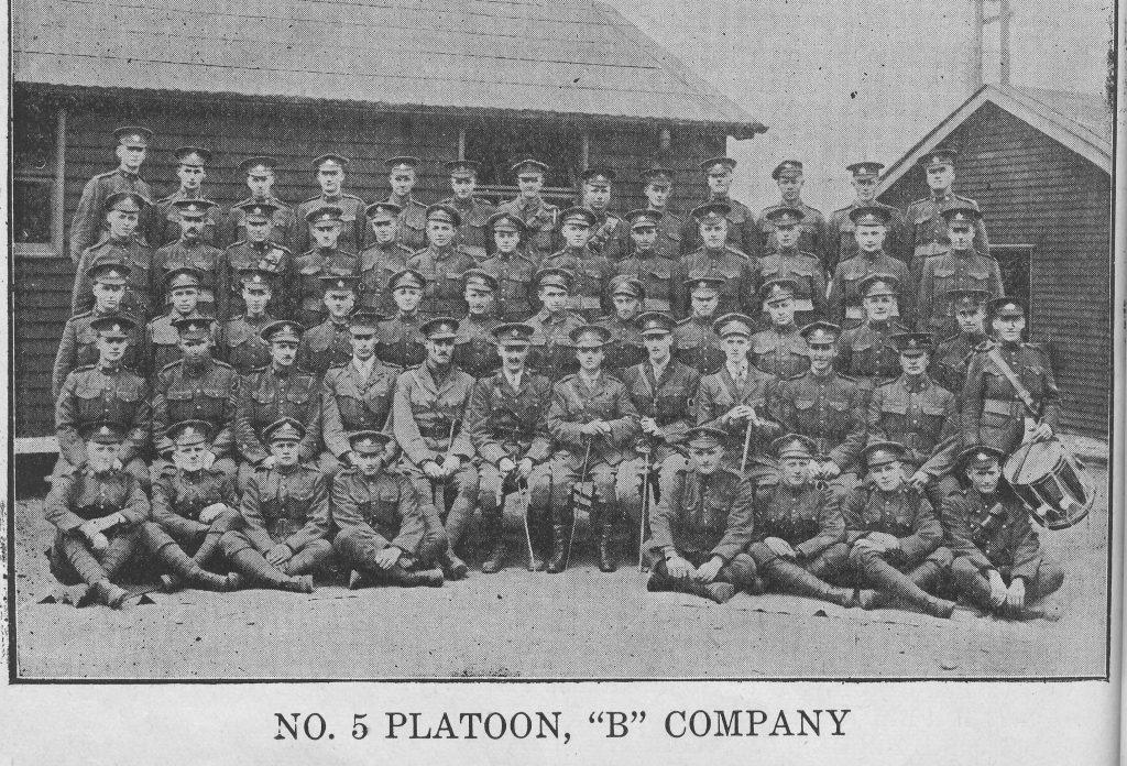 No. 5 Platoon, B Company