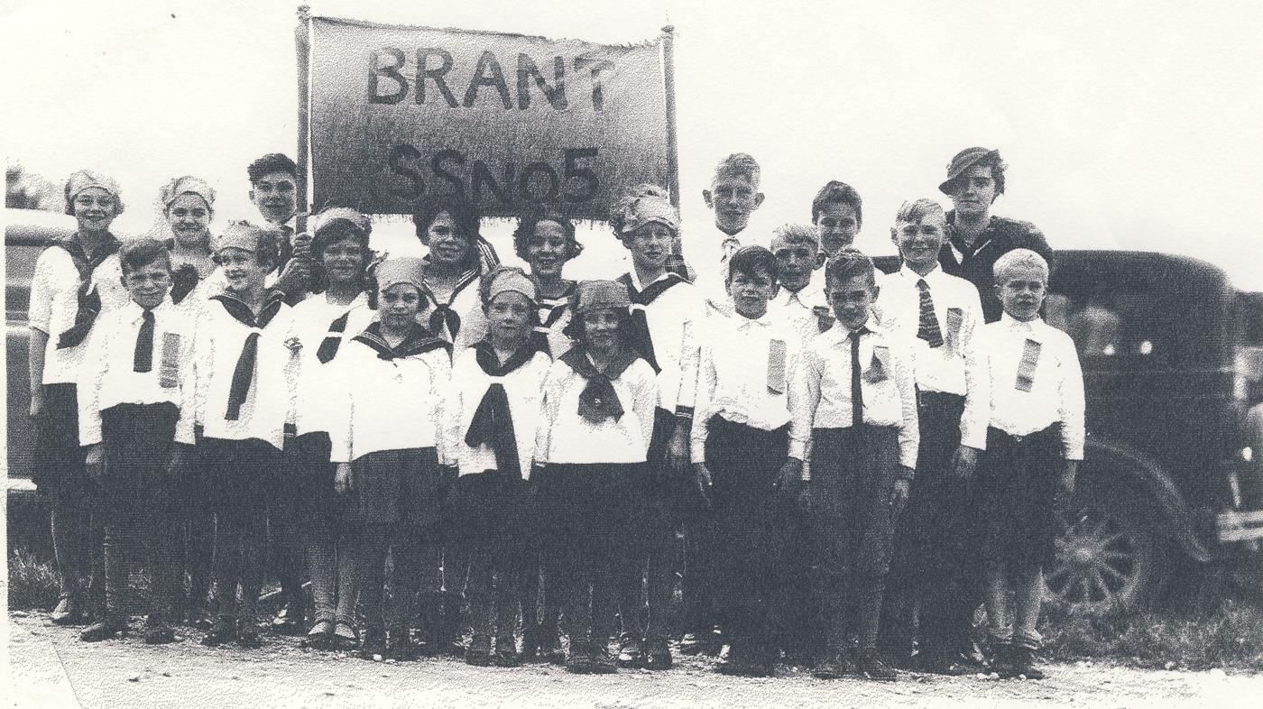 Brant Township SS 5 school children