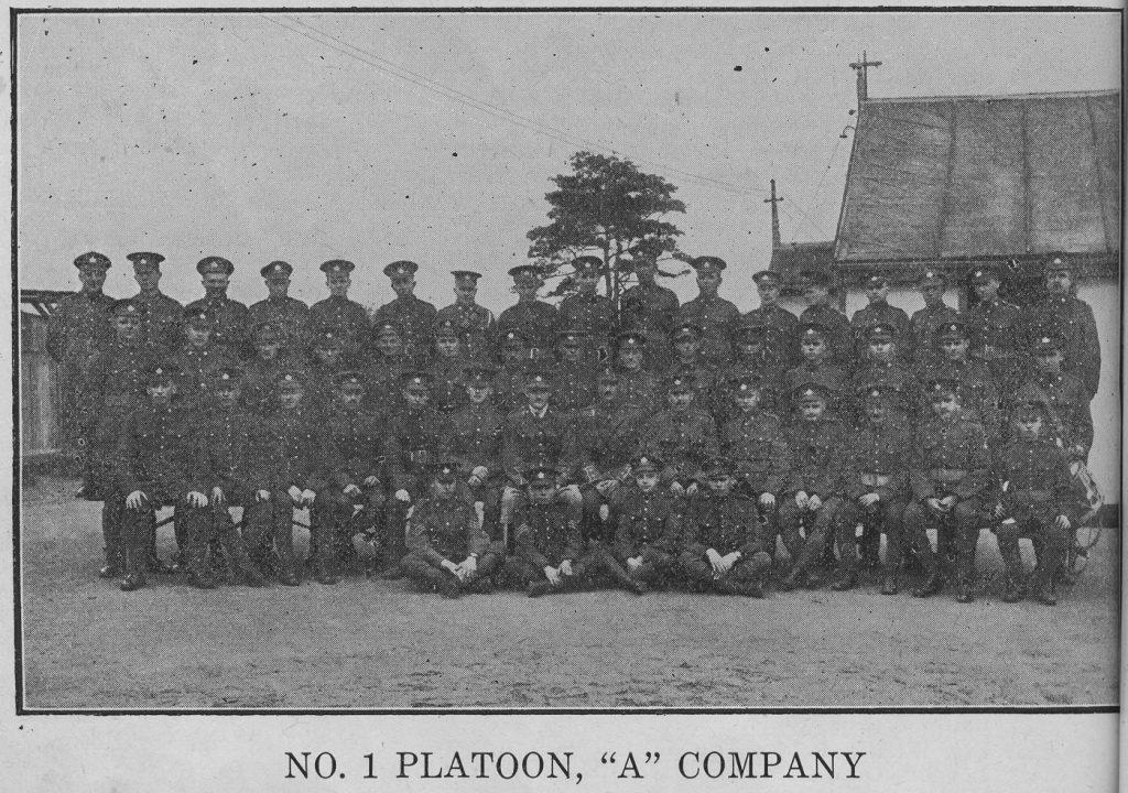 No. 1 Platoon, A Company