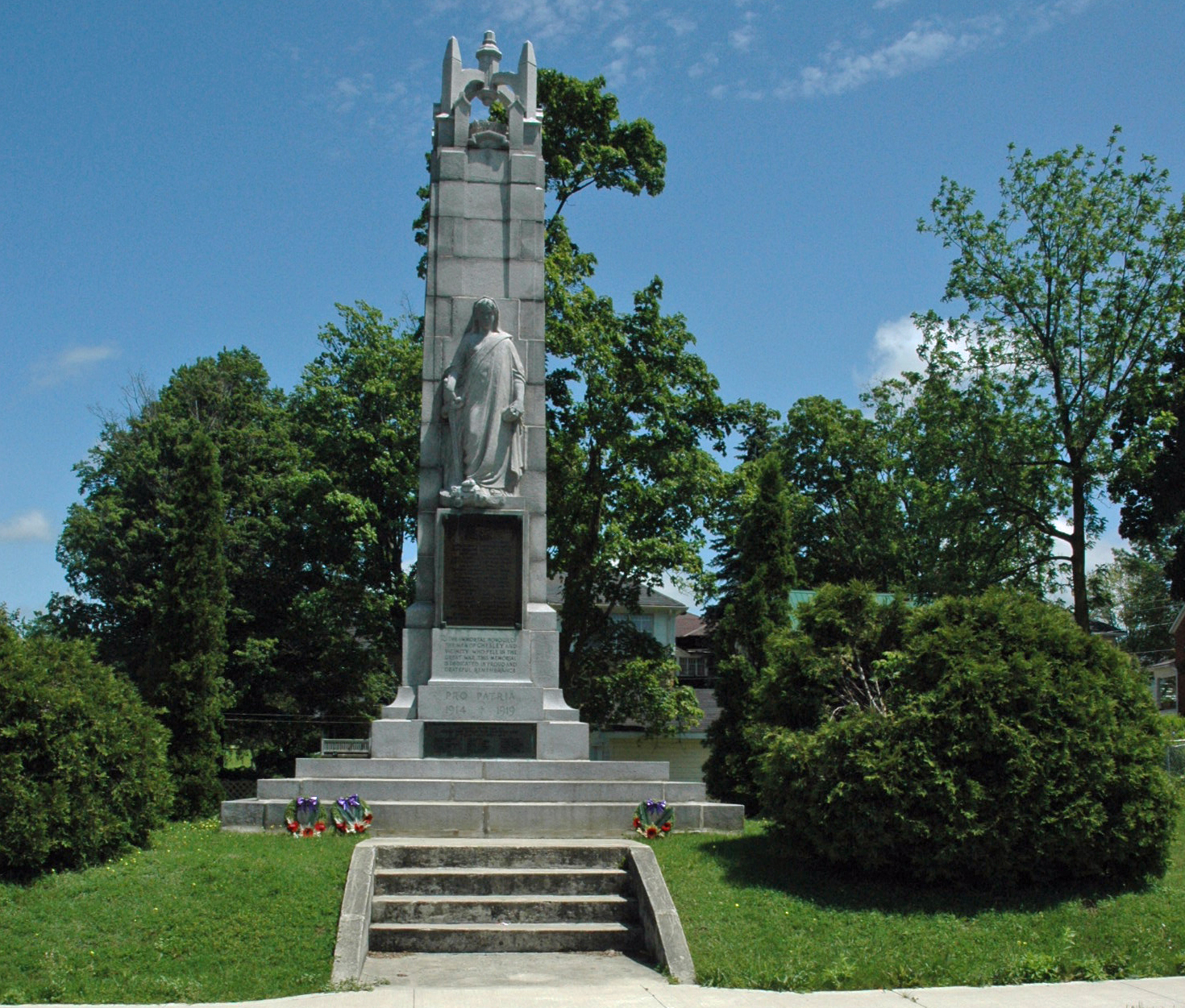 Chesley Cenotaph