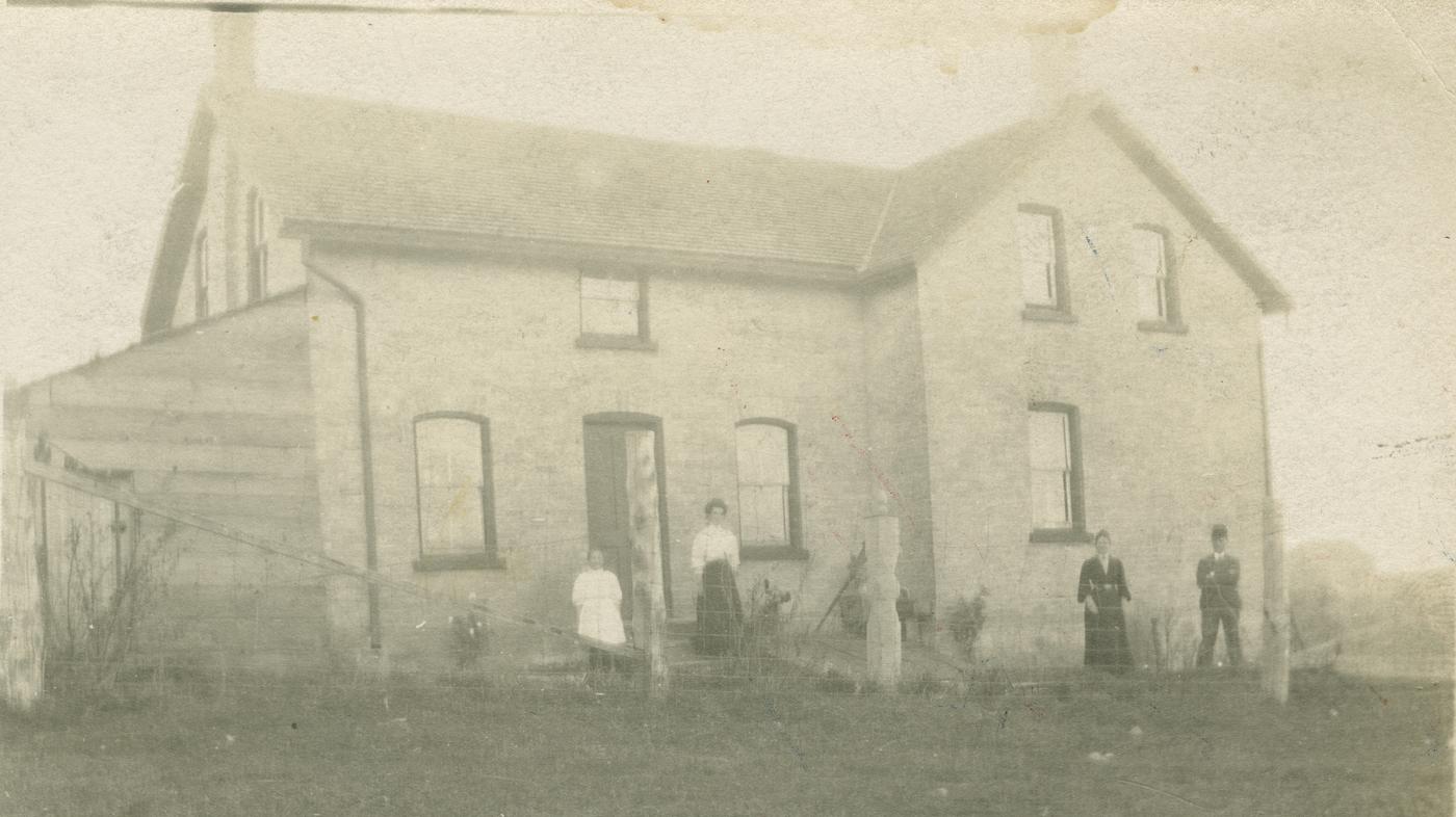 James Pepper farmhouse, Elderslie Township
