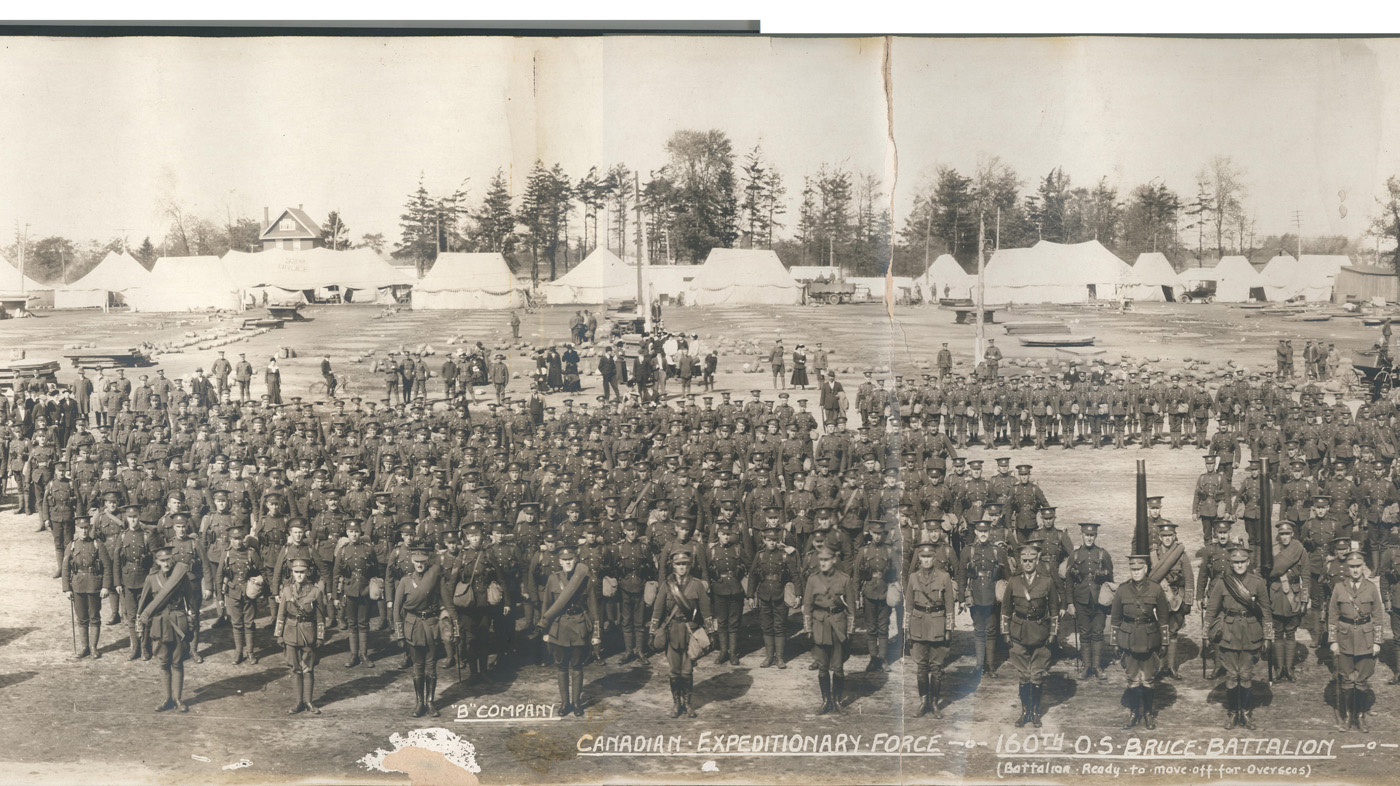 160th Battalion, Carling Heights, London, Ontario