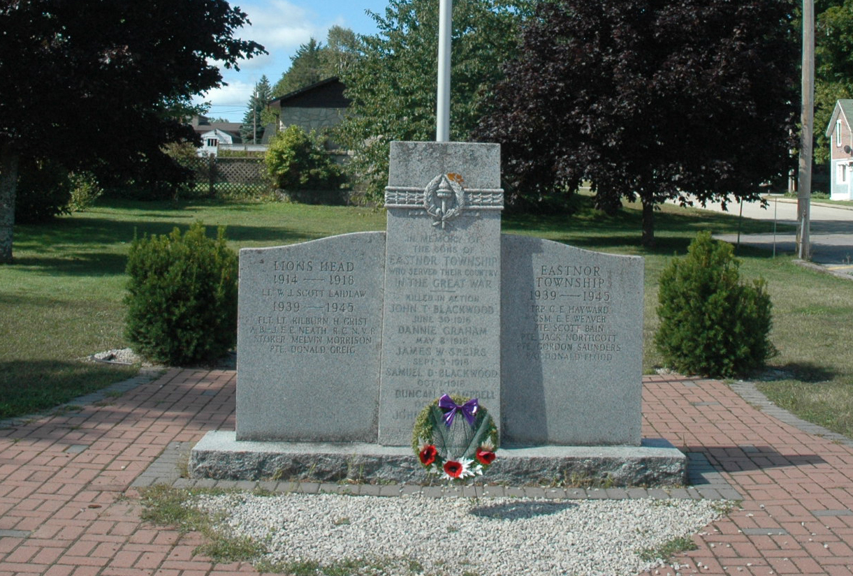 Lion's Head - Eastnor Township Cenotaph
