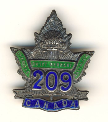Swift Current Collar Badge