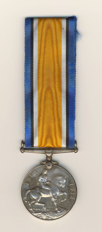 British War Medal (Side B)