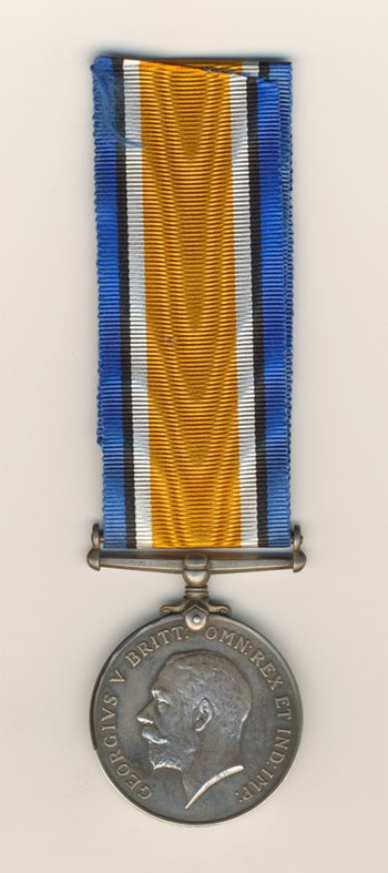 British War Medal (Side A)