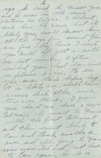 Thompson letter to Cunningham, July 23, 1917, p. 2