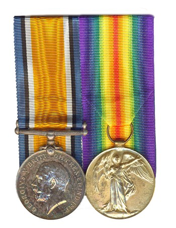 British War Medal and Victory Medal