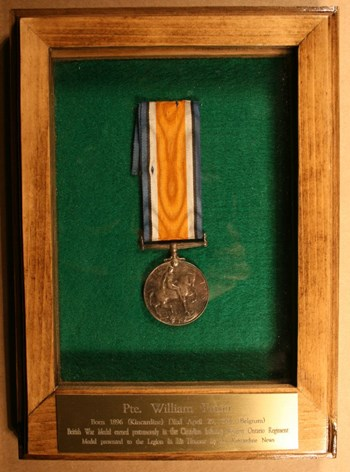 British War Medal, courtesy of RCL#183
