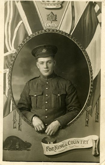 Charles A. Reed, at Bramshott Camp