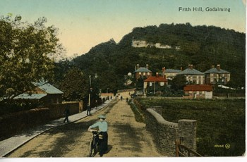 Nov. 5, 1916 Frith Hill postcard, front