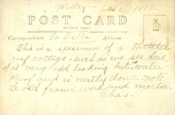 Oct. 1, 1917 postcard, back