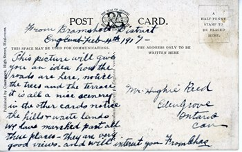 Feb. 4, 1917 postcard, back