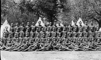 Members of 160th Battalion (was owned by Percy Seibert)