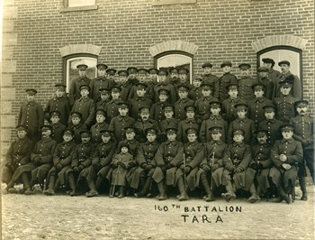 160th Battalion, Tara, 1916