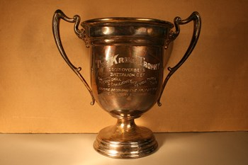 Krug Trophy (front), with Elmer Wark name, courtesy of RCL #383